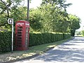 Telephone Kiosk in Rhodes Minnis - geograph.org.uk - 190959.jpg