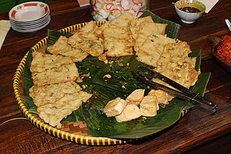 Fritter - Image: Tempe and tahu goreng