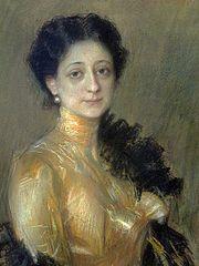 Portret Żanety Poznańskiej