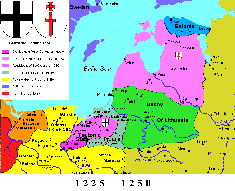 Teutonic state 1250