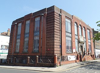 Thanet District - Margate Adult Education Centre, built in 1928 as Thanet School of Art.