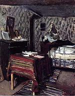 La Sala del Artista, rue Lavin , 1878