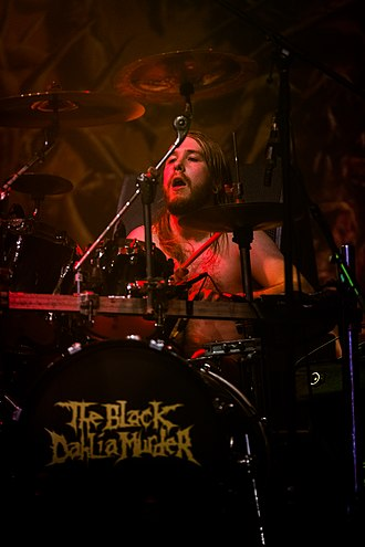 The Black Dahlia Murder (band) - Alan Cassidy in 2016