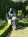 The Black Monk - Abbey Gardens Malmesbury - geograph.org.uk - 912624.jpg