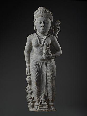 Hariti - Image: The Buddhist Goddess Hariti with Children LACMA M.78.105 (1 of 6)