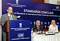 "The Cabinet Secretary, Shri Ajit Kumar Seth addressing the ""Standards Conclave - Role of Standards in International Trade Challenges, Opportunities & Issues"", in New Delhi on April 16, 2014.jpg"