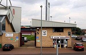 Sixfields Stadium - Club shop