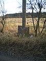 The Danesford milepost - detail - geograph.org.uk - 1758717.jpg