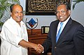The Defence Minister, Shri A. K. Antony calls on the Maldivian President, Mr. Mohamed Waheed Hassan Manik, in Male, Maldives, on September 17, 2012.jpg