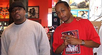 The Fixxers - AMG (left) and DJ Quik (right)