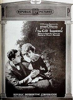 <i>The Gift Supreme</i> 1920 film