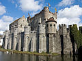 The Gravensteen Castle - Ghent, Belgium - panoramio.jpg