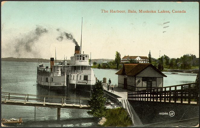 The Harbour, Bala, Muskoka Lakes, Canada