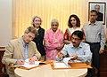 The Joint Secretary, Ministry of Culture, Dr. Venu Vasudevan and the Director, Metropolitan Museum of Art, New York.jpg