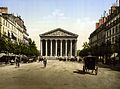 The Madeleine, and rue Royale, Paris, France, ca. 1890-1900.jpg