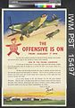 The Offensive is on (recto) london's 1944 Industrial Savings Campaign (verso) Art.IWMPST15497.jpg