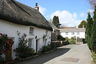 Feock, Cornwall - Image: The Old Post Office, Feock geograph.org.uk 148695