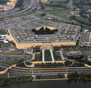 The Pentagon The United States Department of Defenses office building in Virginia