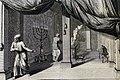 The Phillip Medhurst Picture Torah 494. Raising the tabernacle. Exodus cap 40 vv 22-28. Mortier.jpg