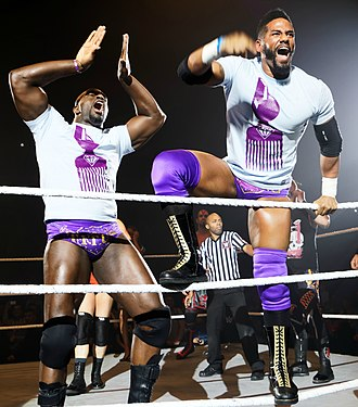 Darren Young - The Prime Time Players in April 2015.