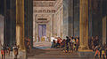 The Queen of Sheba before the temple of Solomon in Jerusalem, by Salomon de Bray (1597-1664).jpg