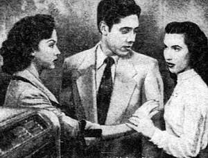 The Ring (1952 film) - L-R: Rita Moreno, Lalo Ríos and Lillian Molieri