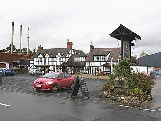 Burford, Shropshire - Image: The Rose and Crown, Burford, Shropshire geograph.org.uk 1555074