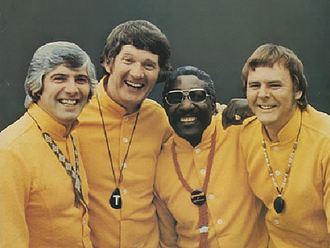 The Spinners (UK band) - The Spinners From left to right: Mick Groves, Tony Davis, Cliff Hall, Hughie Jones