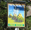 The Three Hills pub sign - geograph.org.uk - 745077.jpg