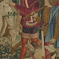 The Unicorn is Killed and Brought to the Castle (from the Unicorn Tapestries) MET DP101246.jpg
