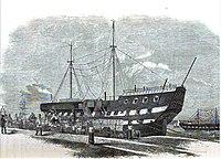 The Warrior prison ship.JPG
