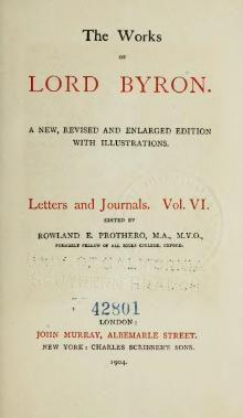 The Works of Lord Byron (ed. Coleridge, Prothero) - Volume 13.djvu
