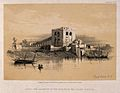 The aqueduct seen from the the Island of Rhoda, Cairo, Egypt Wellcome V0012305.jpg