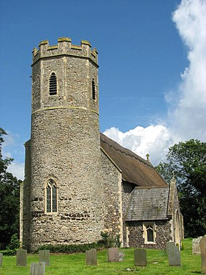 Mautby - Image: The church of SS Peter and Paul geograph.org.uk 1547725