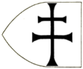 """The flag of the 'Kingdom of Dongola' (Makuria) in the """"Book of all kingdoms"""" (C. 1350).png"""