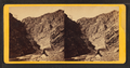 The notch in the Devil's Gate. Union Pacific Railroad, from Robert N. Dennis collection of stereoscopic views.png