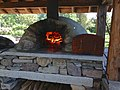 The outdoor oven at the Roper-Ganley home. (8864021370).jpg