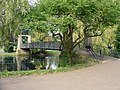 The suspension bridge, Wardown Park, Luton - geograph.org.uk - 978319.jpg
