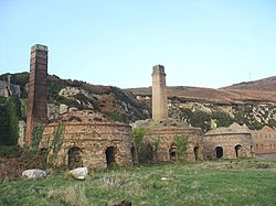 The three surviving kilns of Porth Wen brick works - geograph.org.uk - 1121396.jpg
