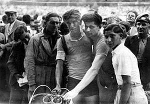 1936 Tour de France - On stage seven, Theo Middelkamp became the first Dutch cyclist to win a Tour de France stage