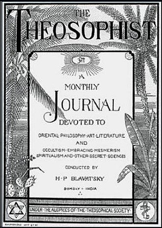 Theosophy and literature - A journal The Theosophist, Bombay