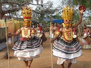 South Indian culture - Thirayattam - An Ethnic Dance Form of Kerala