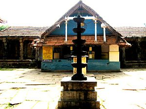 Thirunelli Temple - Thirunelli Temple front view