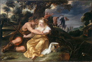 Jan Thomas van Ieperen - Shepherd and Shepherdess