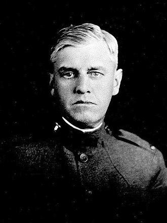 Thomas Burke (athlete) - Thomas Burke in 1918