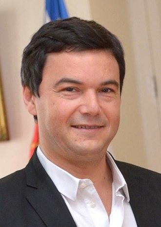 Thomas Piketty - Thomas Piketty, in 2015