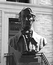 Buste d'Henry David Thoreau.