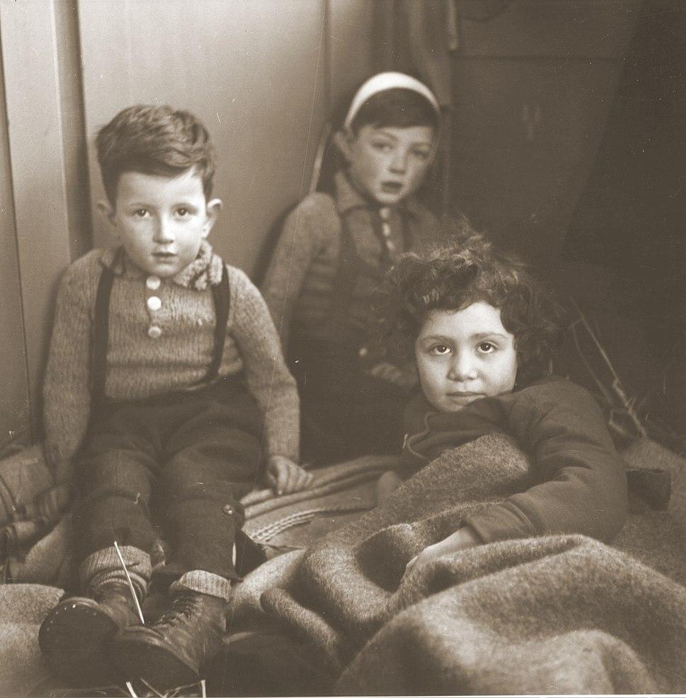 Three Jewish children rescued from Theresienstadt