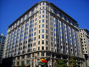 Thurman Arnold - Thurman Arnold Building in Washington, D.C..