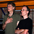 TimHodgkinson and ChrisCutler July2008.jpg